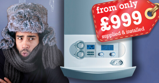 A-Rated Boiler Advert Starting from £999
